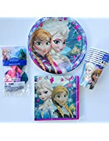 Disney Frozen Birthday Pack For 8 Guests