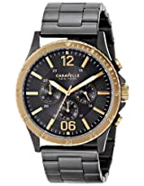 Caravelle New York  Sport Analog Champagne Dial Men's Watch - 45A119