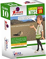 Lakshya NTSE - Class 10 (Study Material + Mock Papers + Motivational Book and CD)