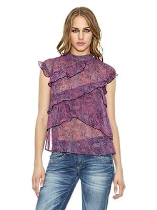 Pepe Jeans London Bluse Florina (Violett)