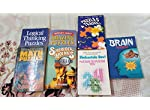 Shakuntala Devi Puzzle to puzzle you , Puzzle & Teasers and other puzzle books(total 7)