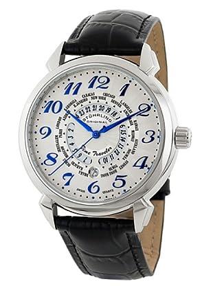 STÜRLING ORIGINAL 118A.331516 - Reloj de Caballero movimiento de cuarzo con correa de piel