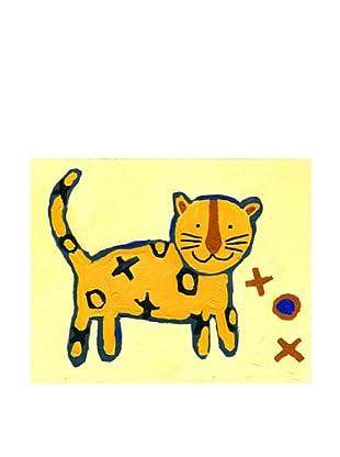 "Cici Art Factory X & O Tiger, 8""x 10"""