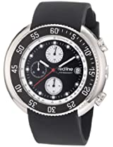 red line Men's RL-50038-01 Driver Chronograph Black Dial Black Silicone Watch
