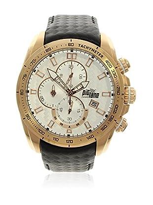 Pit Lane Uhr mit Miyota Uhrwerk Pl-1006-9 schwarz 46 mm
