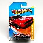 Hot Wheels 2011 New Models Dodge Challenger Drift Car RED 6/50 (6/244)