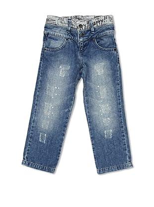 Desigual Pantalón Vaquero Hibiscus (Jeans Cian)