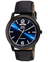 Q&Q Analog Blue Dial Men's Watches - S228-512NY