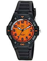 Q&Q Regular Analog Orange Dial Men's Watch - GW36J004Y