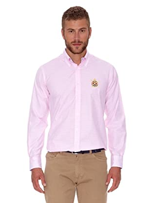 Polo Club Camisa Fitted (Rosa)