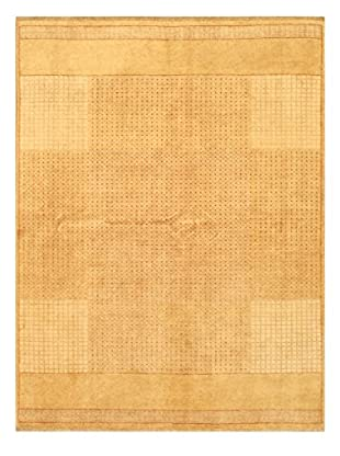 Hand-Knotted Finest Ziegler Chobi Wool Rug, Beige, 5' 11