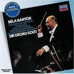 輸入盤CD ショルティ指揮/シカゴ交響楽団 バルトーク:管弦楽のための協奏曲、舞踏組曲ほかのAmazonの商品頁を開く