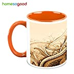 HomeSoGood The Ancient Art Coffee Mug