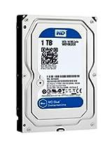 WD Blue 1 TB Desktop Hard Drive: 3.5 Inch 7200 RPM SATA 6 Gb/s 64 MB Cache - WD10EZEX