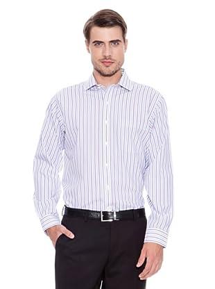 Brooks Brothers Camisa Vestir Austin (Azul / Violeta)