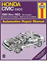 Honda Civic 1300 and 1500 CVCC Manual No. 633: '80-'83 (Haynes Manuals)