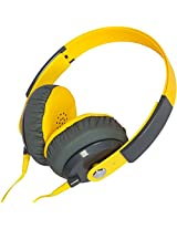 Kiba Colorful Stereo Headphone KD-500 Yellow