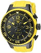 Swiss Legend Men's 11812P-BB-01Y Neptune Chronograph Black Dial Watch