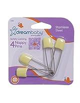 Dreambaby Safety Locking Nappy Pins (Colours May Vary)