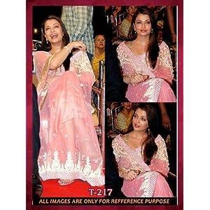 Aishwarya Bollywood Replica Saree t-217 By Lime Fashion