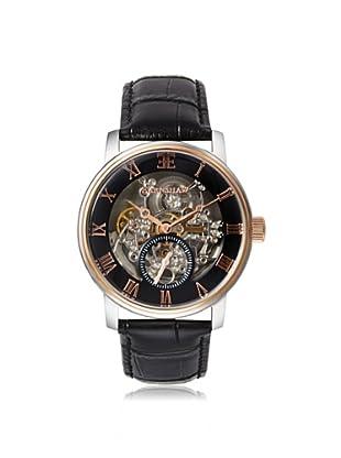 Earnshaw Men's 8041-04 Westminster Black Stainless Steel Watch