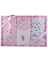Baby Gift Set-10 Pcs (Pink) NEW BORN