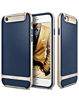 iPhone 6 case, Caseology [Wavelength Series] [Navy Blue] Textured Pattern Grip Cover [Shock Proof] for Apple iPhone 6 (2014)