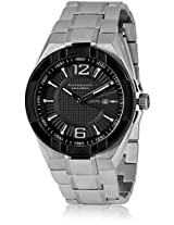 Giordano Analog Black Dial Men's Watch - P122-11