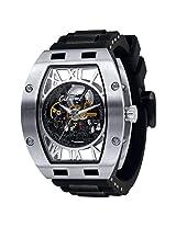 Ciemme Luxury Skeleton Mechanical Automatic Movement Roman Dial Mens Wristwatch