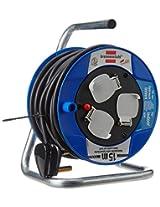 Brennenstuhl 4 Piece AK 180 15 m H05VV-F 3G1 5 Compact Cable Reel (Black)