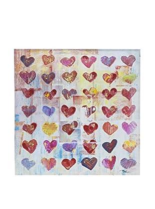 Novità Home Leinwandbild Forty Two Hearts