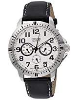Citizen Analog White Dial Men's Watch - AG8310-08A