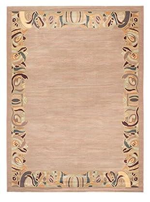Lotus Mod Rug, Copper/Khaki, 7' 11