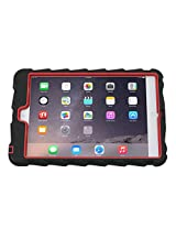 Gumdrop Cases Hideaway Rugged Case with Stand for Apple iPad Mini 3 (Black-Red)