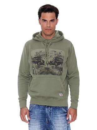 Pepe Jeans London Sudadera Kerouac (Verde)