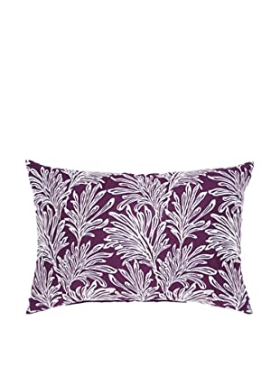 Image by Charlie Summertime Decorative Pillow, Purple/White, 12