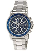 Giordano Chronograph Blue Dial Mens Watch-P131-33