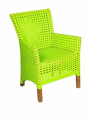 Jeffan Outdoor Derby Arm Chair, Lime Green
