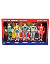 Justice League The New Frontier Bendable Figure Set (5 Heroes)