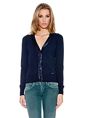 Pepe Jeans London Cardigan Marcia (Blau)