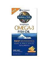 Garden of Life - Minami MorEPA Omega 3 Fish Oil, 60 Softgels