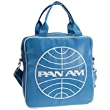 Logoshirt Unisex-Adult Pan AM Globe Record Fake Messenger Bag