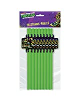 Teenage Mutant Ninja Turtles Straws, 16 Count