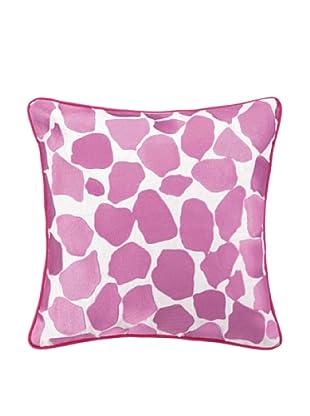Peking Handicraft Hotel Monaco Pillow, Pink Animal Print