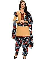 Suryajyoti Women's Cotton Dress Material (Multi_Free Size)