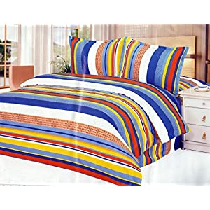 Homefab India Every Day Double Bed Sheet With 2 Pillow Covers