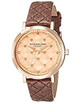 Stuhrling Original Analog Rose Gold Dial Women's Watch - 462.03