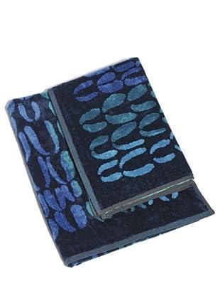 Ungaro Coppia Spugna Ethno blu