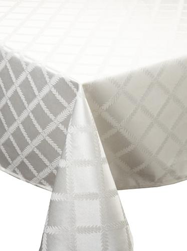 Lenox Laurel Leaf Tablecloth (White)
