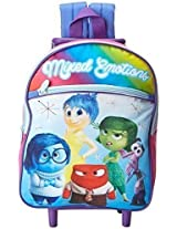 Disney Girls' Inside Out 12 Inch Rolling Backpack - Licensed Product
